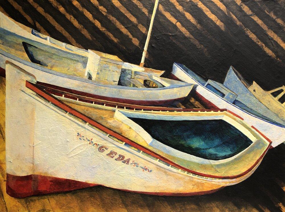 Chesapeake Oyster Boats