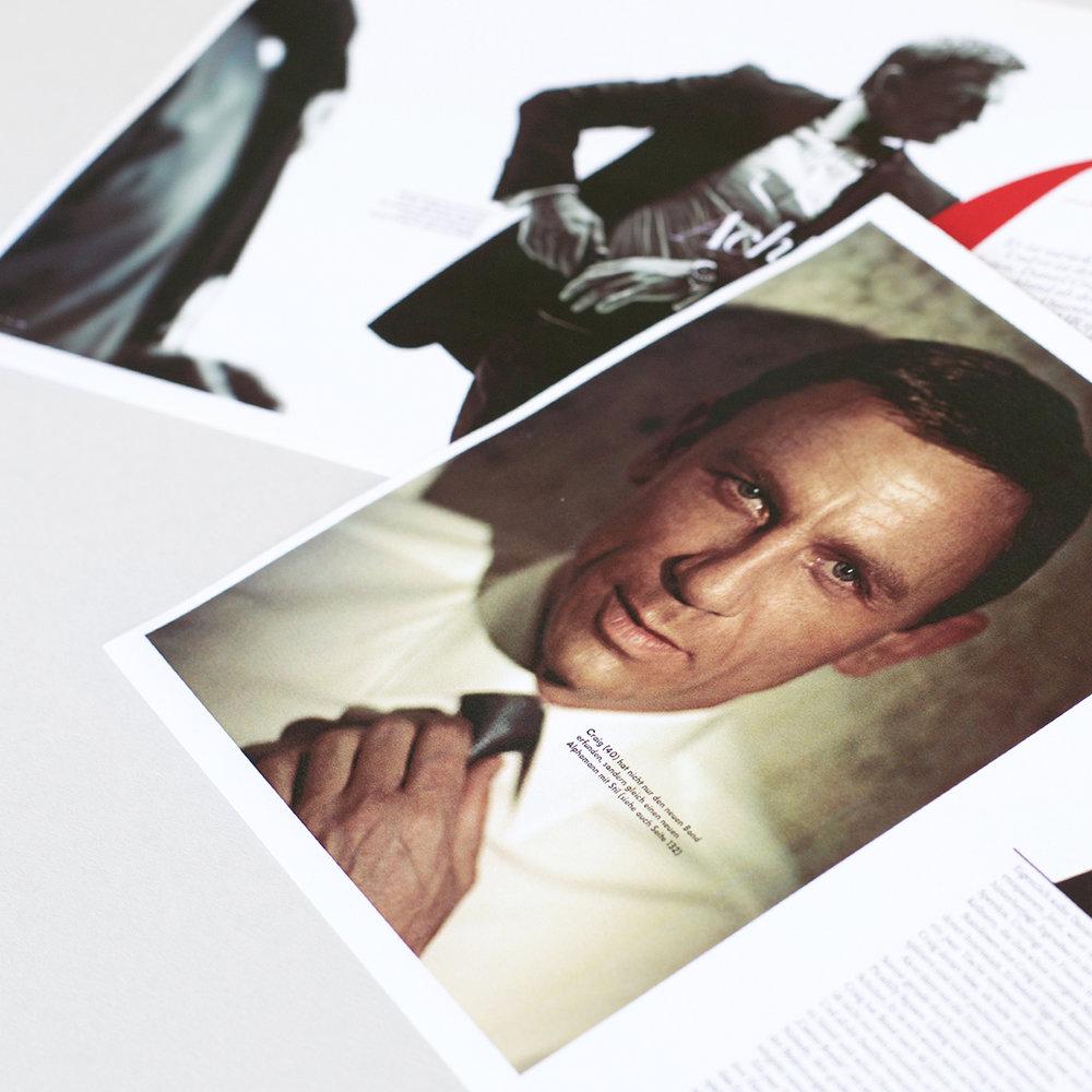 """""""Ein Martini morgens um elf? Das geht eigentlich nicht. Na ja, manchmal geht es doch. Schließlich bin ich James Bond."""" - PORTRÄTÜber Daniel Craig,erschienen in Vanity Fair"""