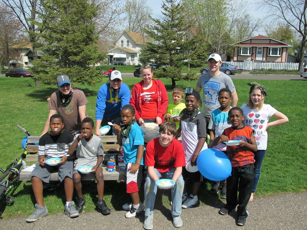 First Annual Folwell Earth Day Clean Up