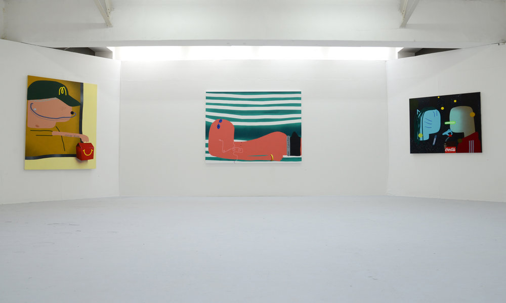 Installation Shot of 'A Desperate State of Affairs'