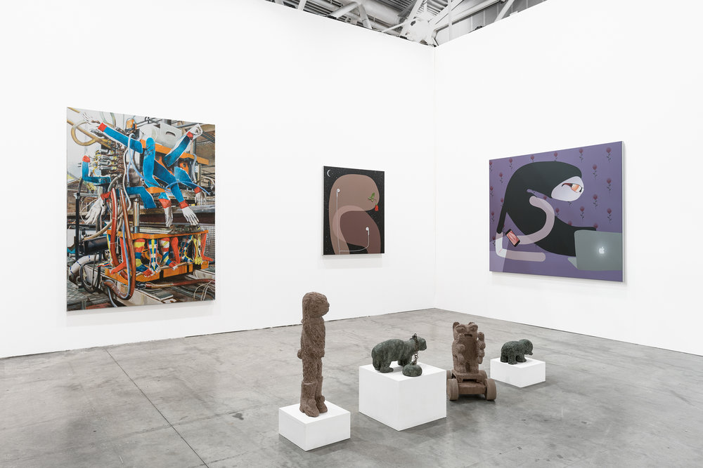 Artissima Fair 2018, Semiose Galerie, Turin, Italy