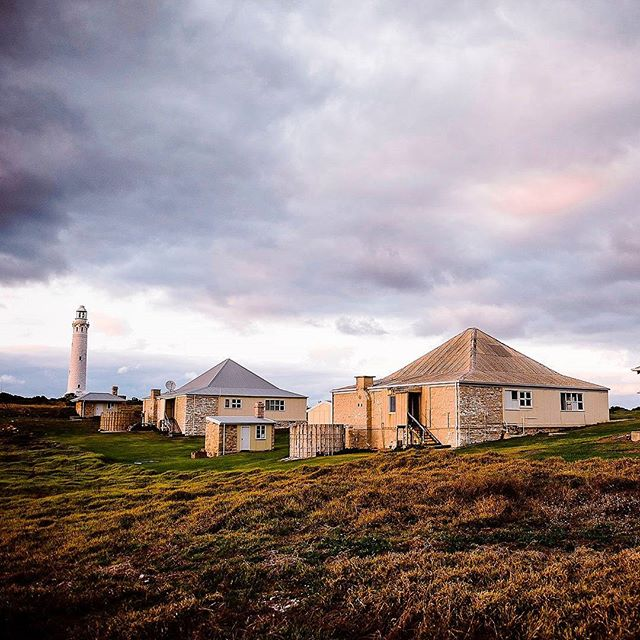 The #Cape #Leeuwin #Lighthouse is a lighthouse located on the headland of Cape Leeuwin, the most south-westerly point on the mainland of the Australian Continent, in the state of #Western #Australia.  Photo: @elementsmargaretriver #russellordphoto #markboskell .... #justanotherdayinwa #margaretriver #AustraliasSW #elementsmargaretriver #travel #adventure