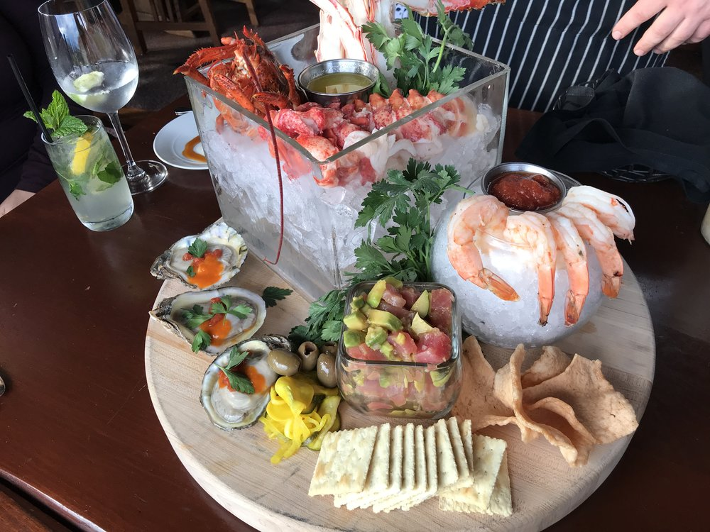 A seafood-lovers ideal appetizer