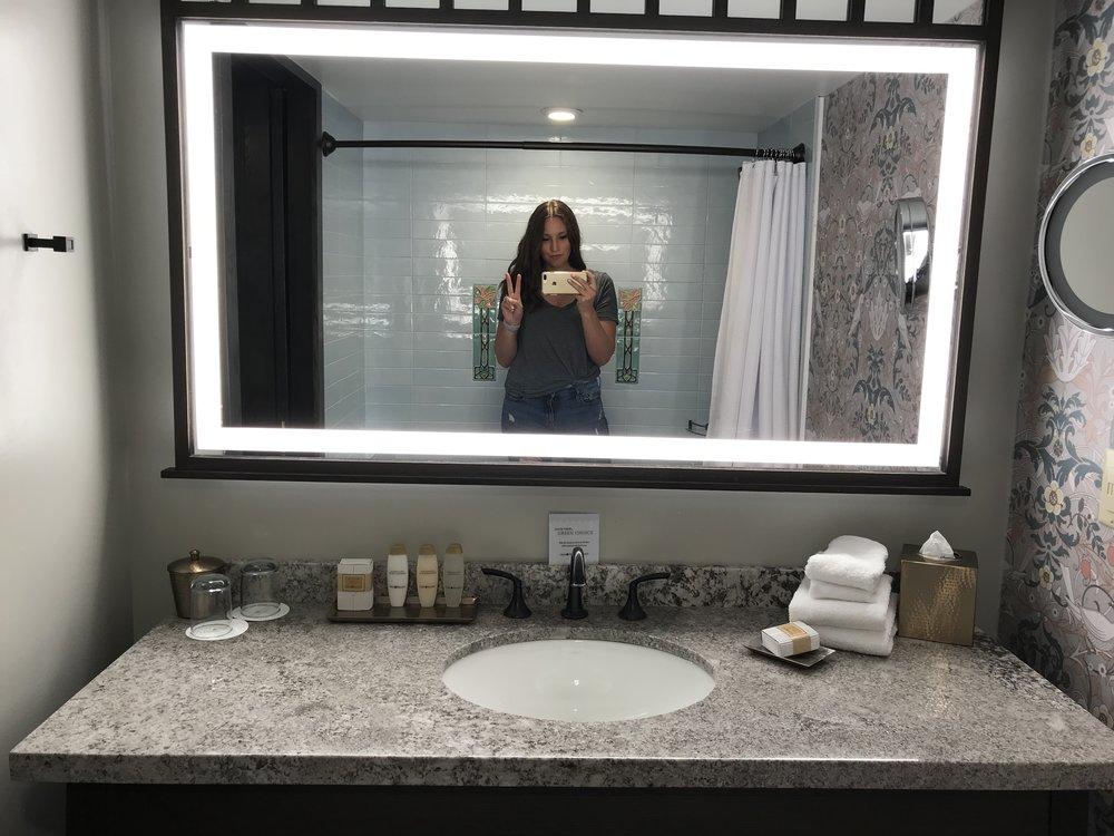 Bathroom selfie!