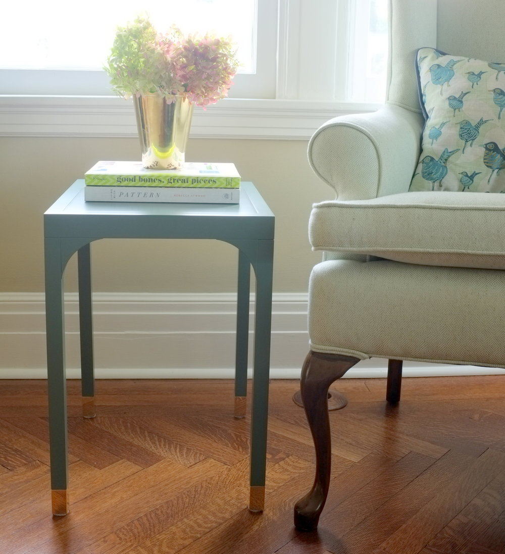 Wythe Accent Table, Juniper Paint
