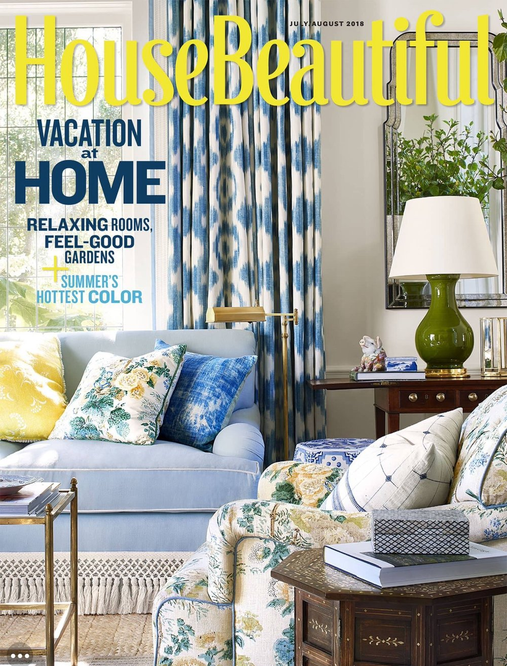 House Beautiful July/August 2018