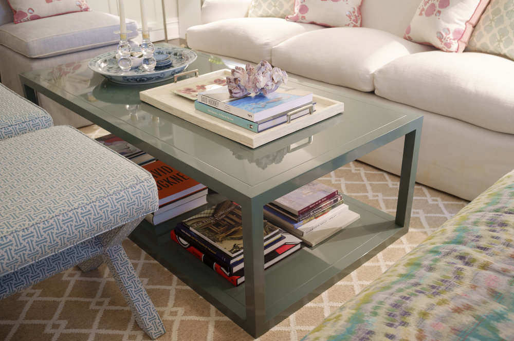 Orchard Coffee Table, Juniper Lacquer, 60""