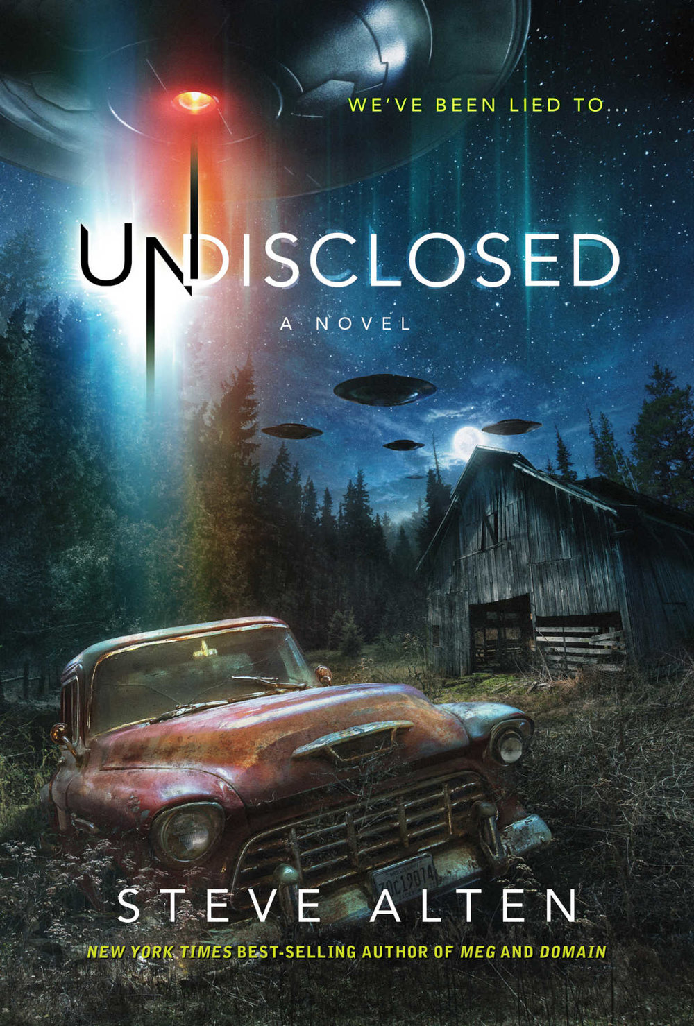 UNDISCLOSED comes out June 6, 2017