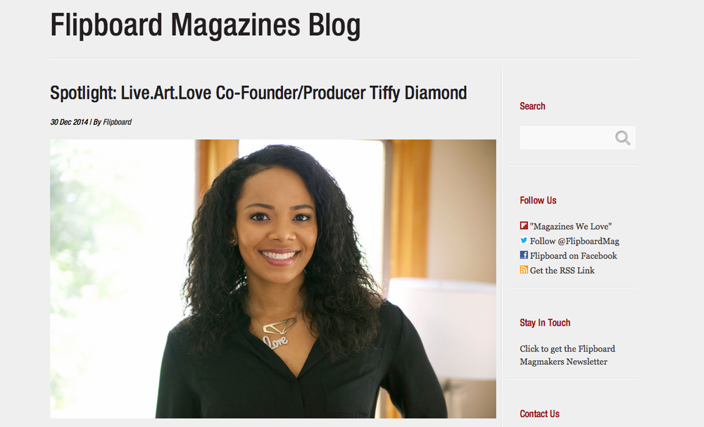 Flipboard Magazine Interview