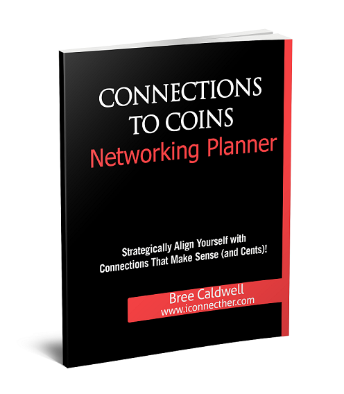 Connections to coins networking planner iconnecther create your own blueprint to align yourself with connections that make sense so you can finally network to increase your net worth malvernweather Image collections