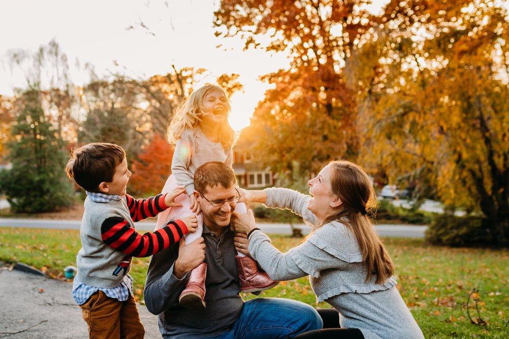 Lifestyle Family photographers in Philadelphia