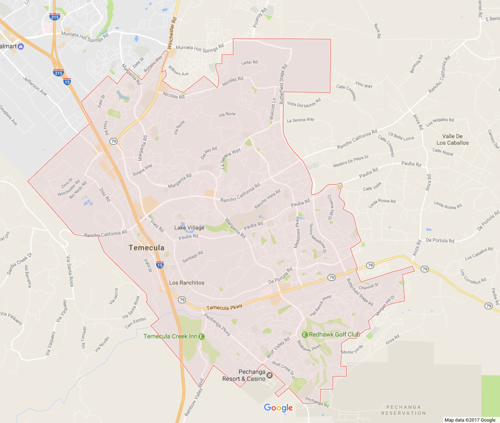 Temecula is a city in southwestern California, United States, with a population of 100,097 during the 2010 census and an estimated 2013 population of 106,780. It was incorporated on December 1, 1989.Wikipedia