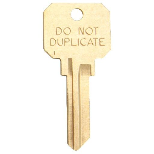 Do Not Duplicate keys or DNDs are keys that locksmiths and key cutters are prohibited from copying unless proper identification is provided. This ensures that unknown copies of your key are made.