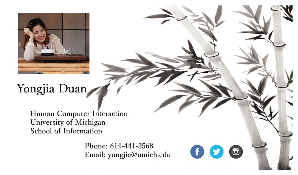 Visual — Yongjia Duan