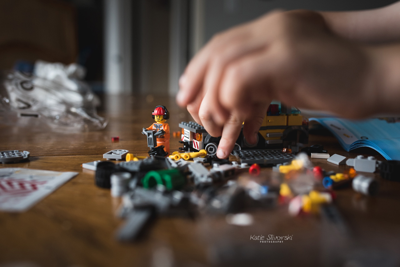 Building a lego guy