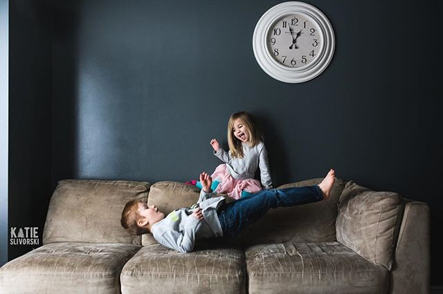 School starts on the 9th.  In the meantime, they're bouncing off my walls and couch.  Literally.⠀ ⠀ #saveme #winterbreak #couchjumping #nikon #childhoodunplugged #lifeunscripted #letthekids #lifestyle #documentaryphotography