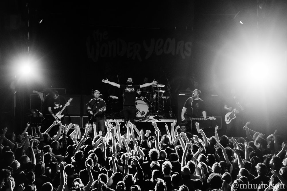 The Wonder Years / 4/5/16 / Mr. Smalls Theatre / Millvale, PA