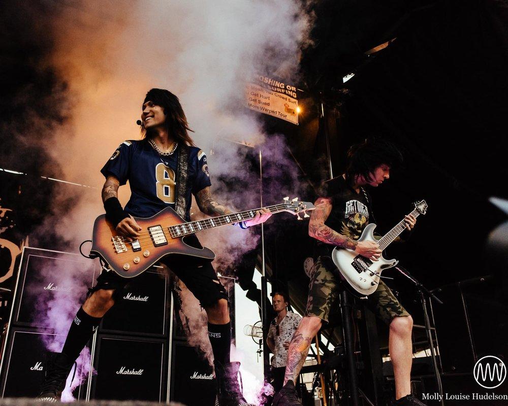 Black Veil Brides / 7/19/15 / Vans Warped Tour / Holmdel, NJ