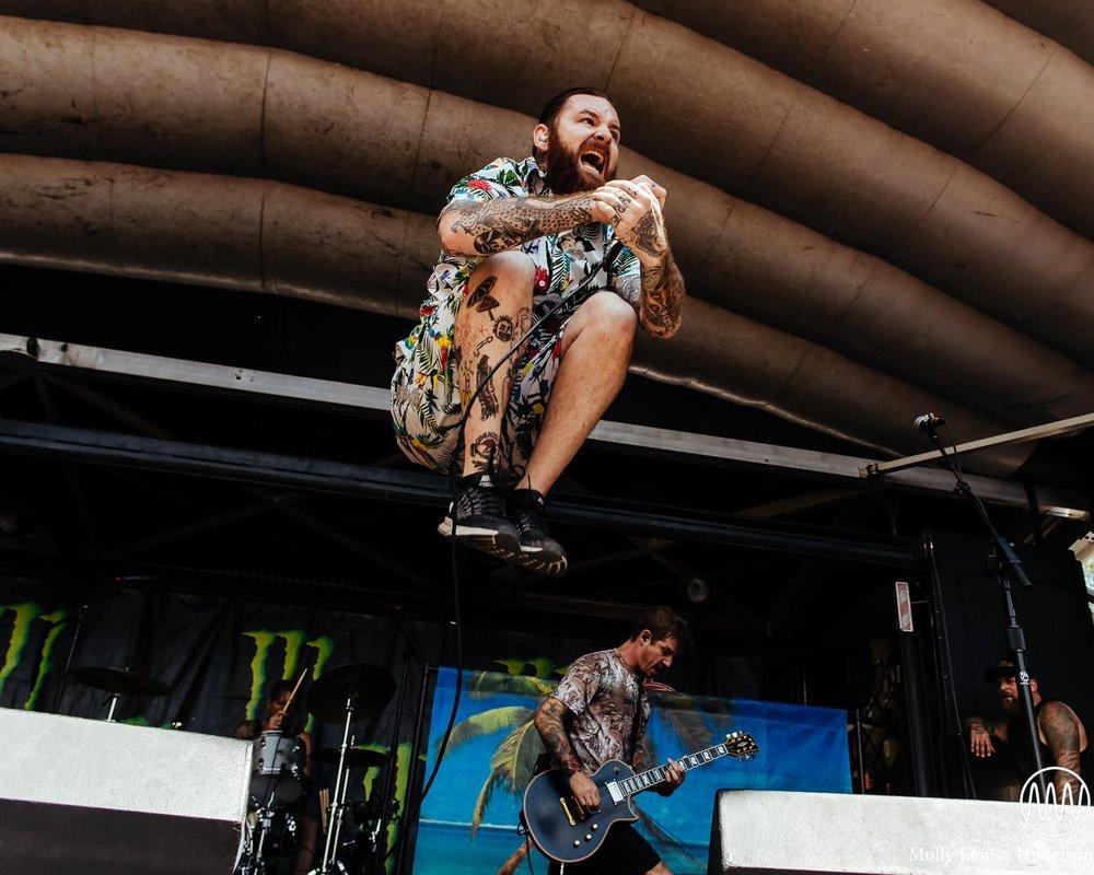 Senses Fail / 7/21/15 / Vans Warped Tour / Scranton, PA