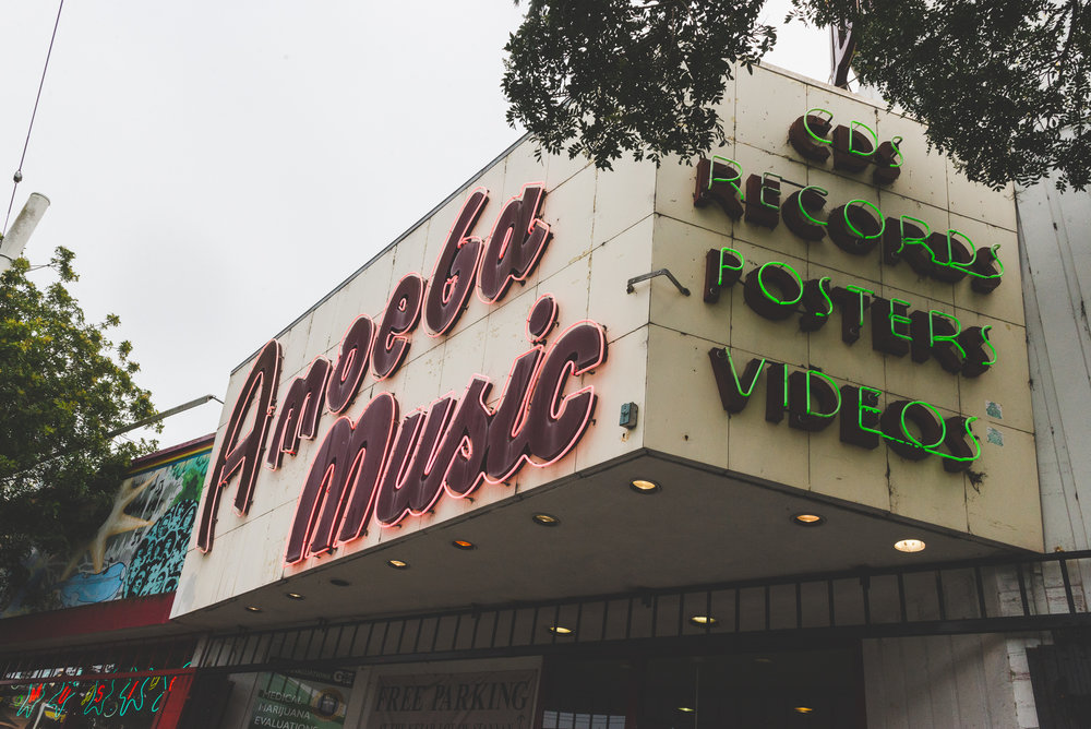 Amoeba Music / 1/30/16 / San Francisco, CA
