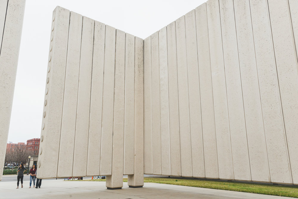 Inside the JFK Memorial. / 2/21/16 / Dallas, TX