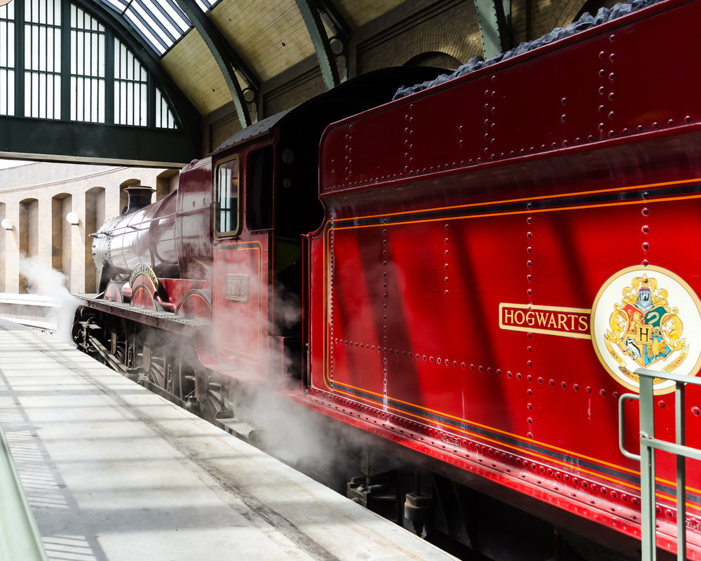 The Hogwarts Express in all her glory. / 3/5/16 / Universal Studios / Orlando, FL