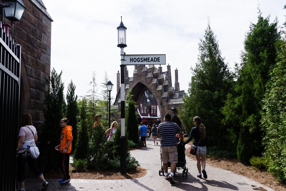 Almost in Hogsmeade! / 3/5/16 / Islands of Adventure / Orlando, FL