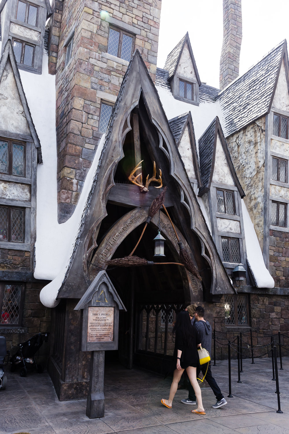 The Three Broomsticks. / 3/5/16 / Islands of Adventure / Orlando, FL
