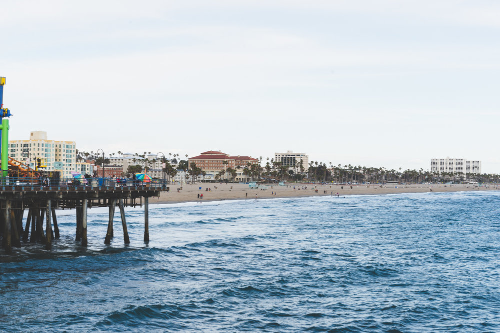 Santa Monica, seen from the pier. / 5/7/16 / Santa Monica, CA