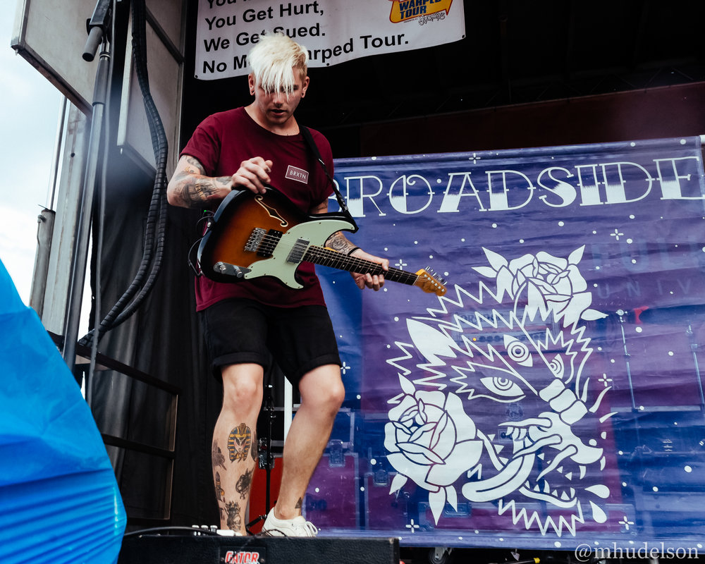 Broadside / 6/30/16 / Vans Warped Tour / Atlanta, GA