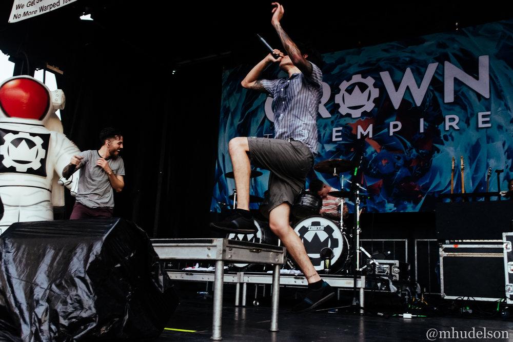Crown The Empire / 7/2/16 / Vans Warped Tour / Orlando, FL