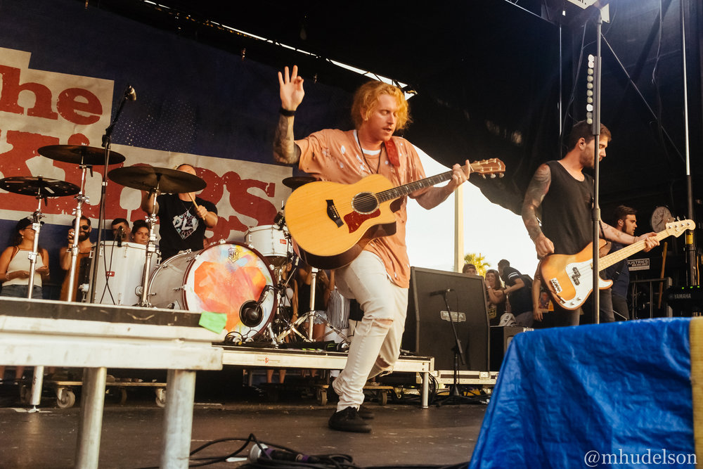 We The Kings / 7/2/16 / Vans Warped Tour / Orlando, FL
