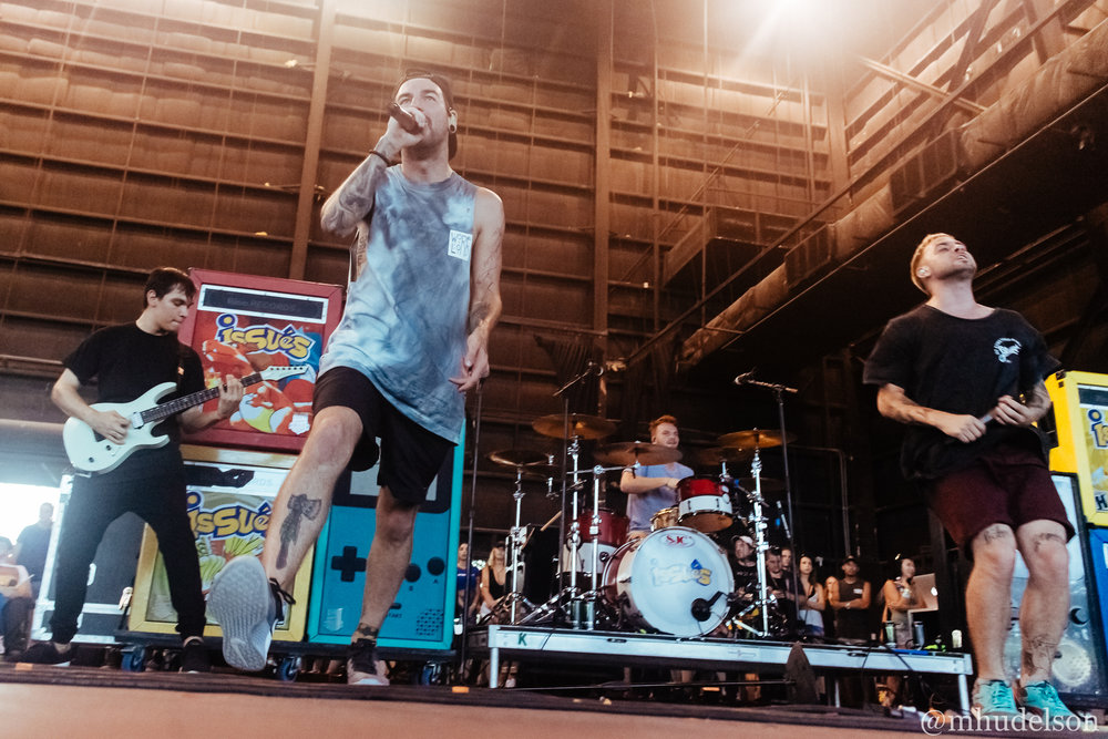 Issues / 7/3/16 / Vans Warped Tour / West Palm Beach, FL