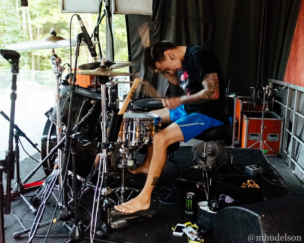 Like Pacific / 7/11/16 / Vans Warped Tour / Scranton, PA