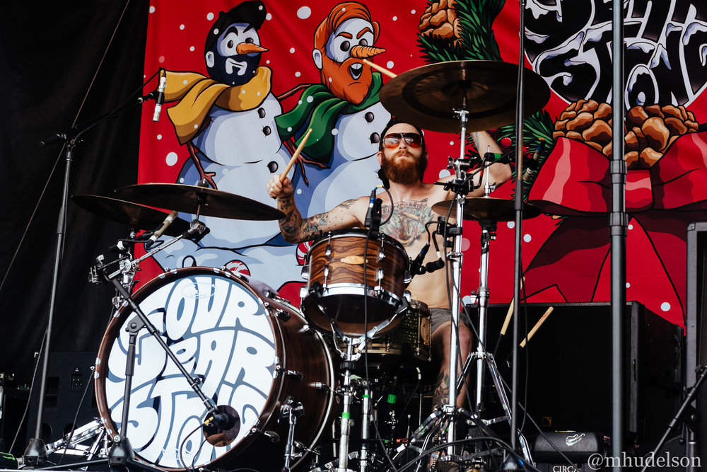 Four Year Strong / 7/19/16 / Vans Warped Tour / Noblesville, IN
