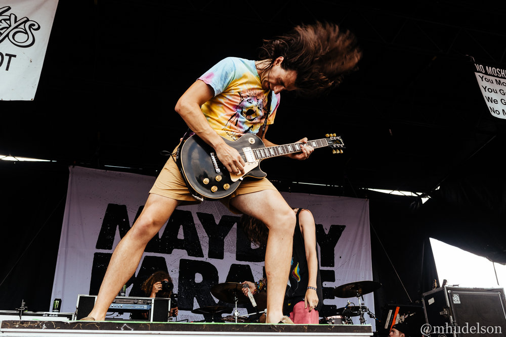 Mayday Parade / 7/19/16 / Vans Warped Tour / Noblesville, IN