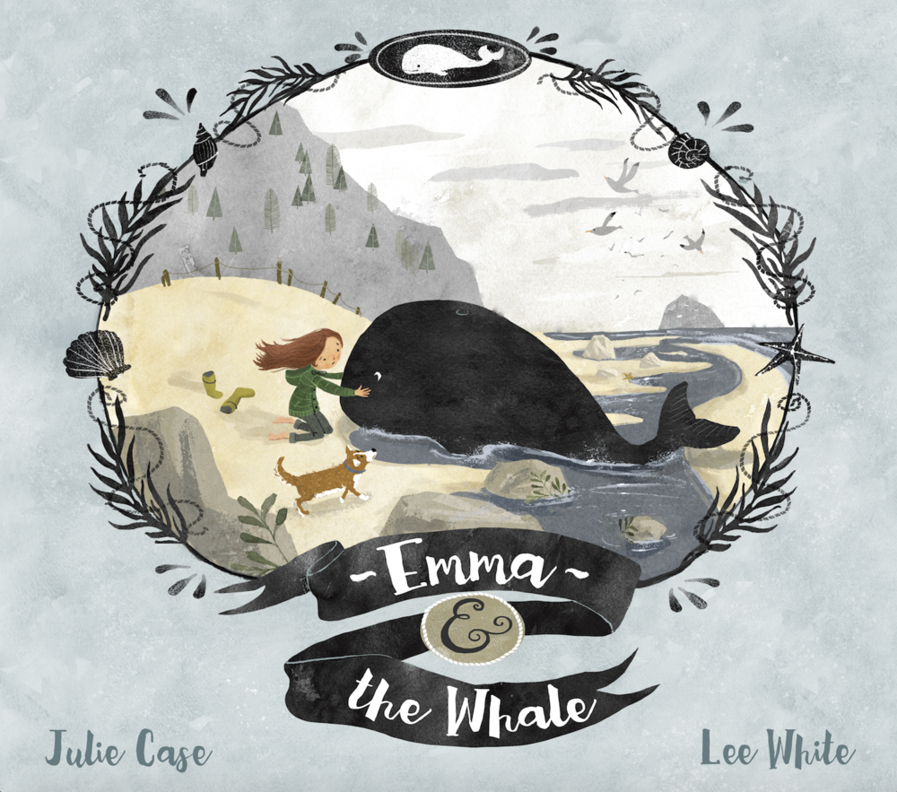 Emma & The Whale - Written by Julie Case, Illustrated by Lee WhitePublication Date: 3/7/17In this lyrical picture book with subtle conservation themes, a girl helps rescue a whale who has washed ashore. Here is a beautifully written, moving story that will appeal to all animal lovers, and to those interested in protecting our oceans and marine life.