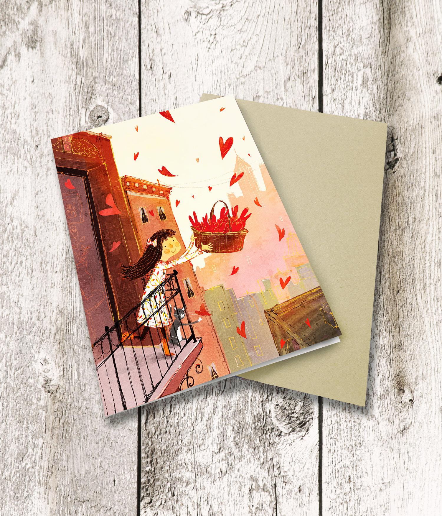 Greeting cards set of 12 lee white illustration greeting cards set of 12 m4hsunfo