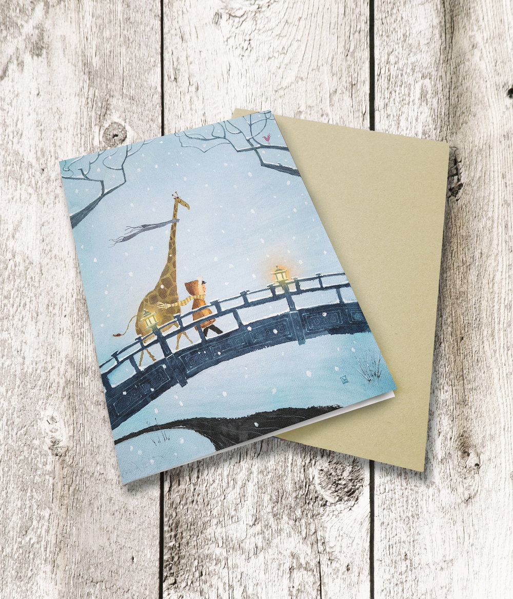 Greeting card sets now in Lee\'s shop! — Lee White Illustration
