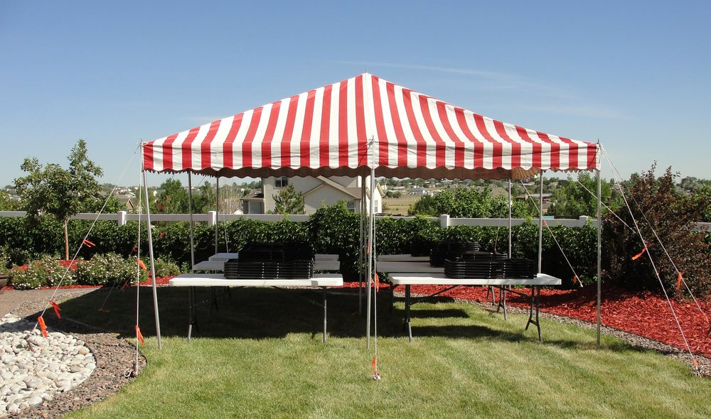 20' x 20' Shade Tent