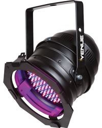 6 Color Changes, Rainbow and Strobe Effect. Speed Adjustable.