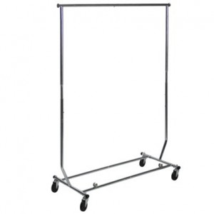 Mobile Coat Rack with Extending Ends