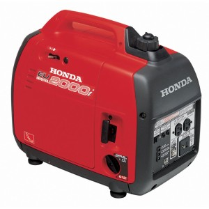 HONDA 2000i Generator is very quiet and         offers up to 2000 Watts. Inverter.