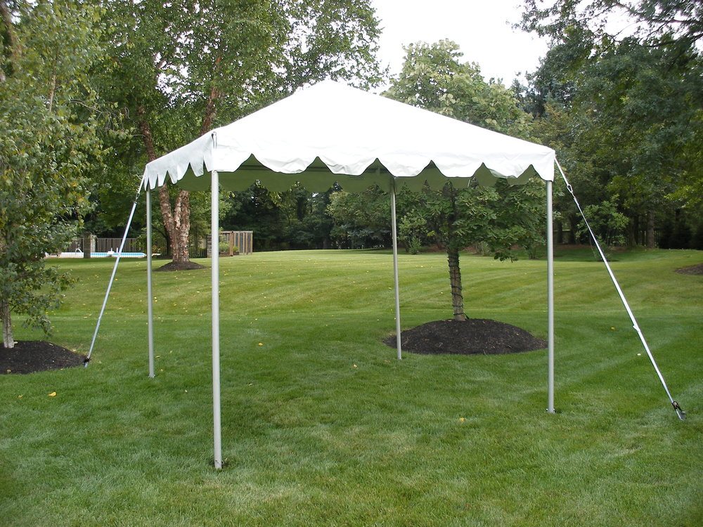10' x 10' Frame Tents