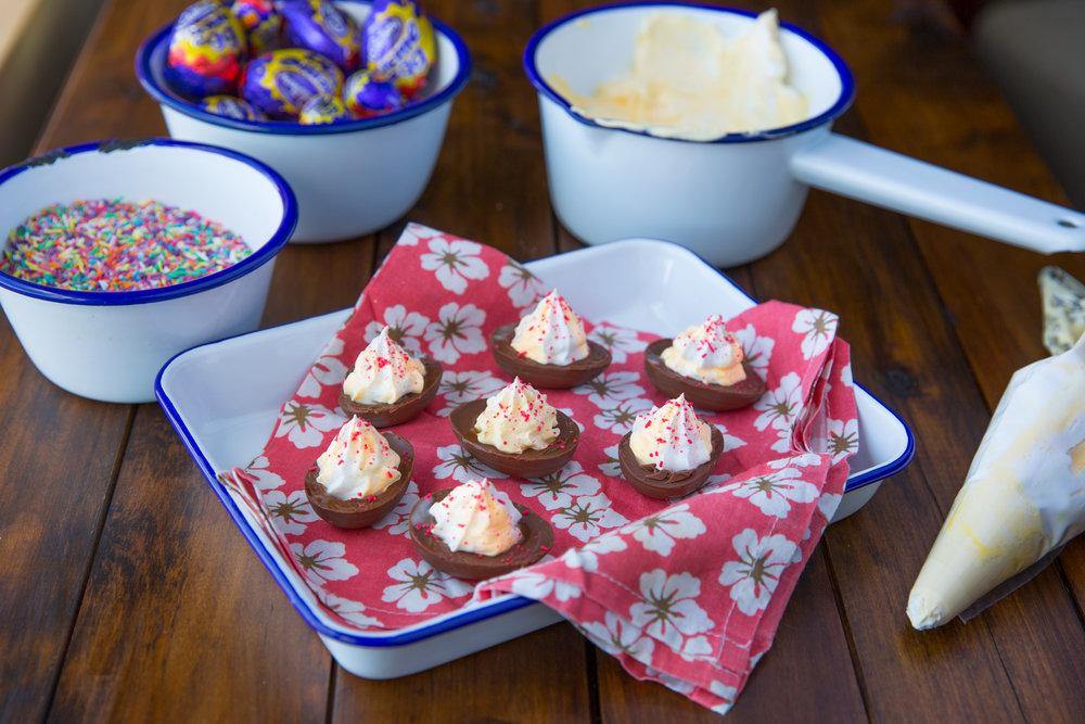 Devilled Creme Eggs