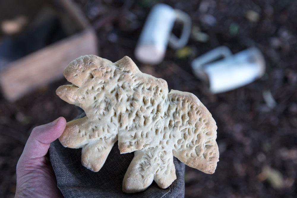 Hot Pie's direwolf bread