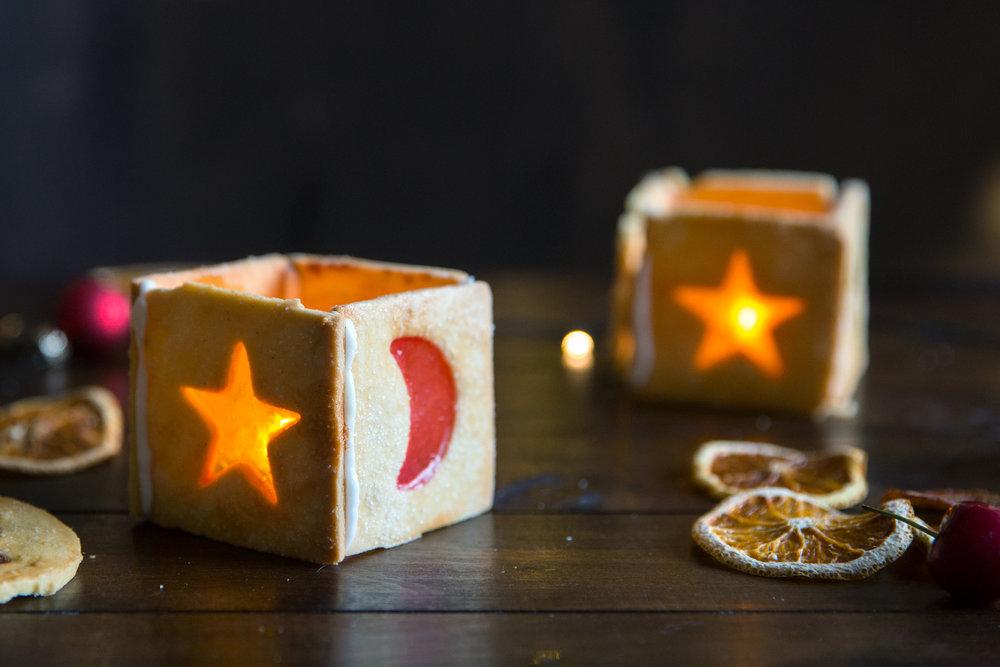 Xmas lantern cookies