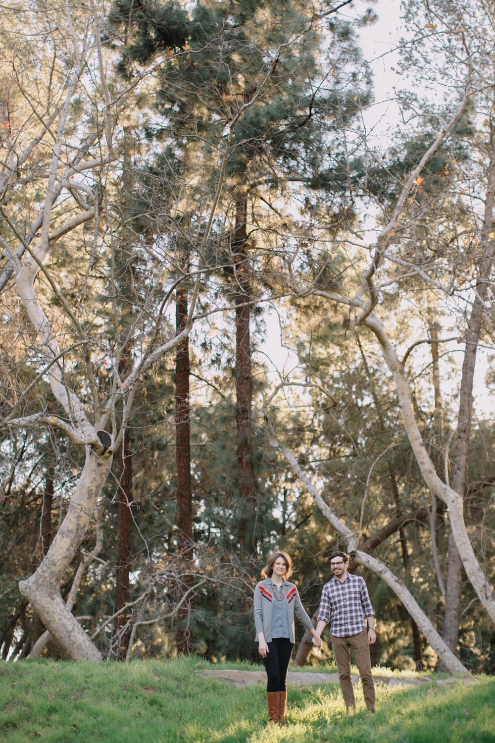 Griffith Park Observatory and Trails Cafe Los Angeles Engagement Session - Alison and Andrew-005.jpg