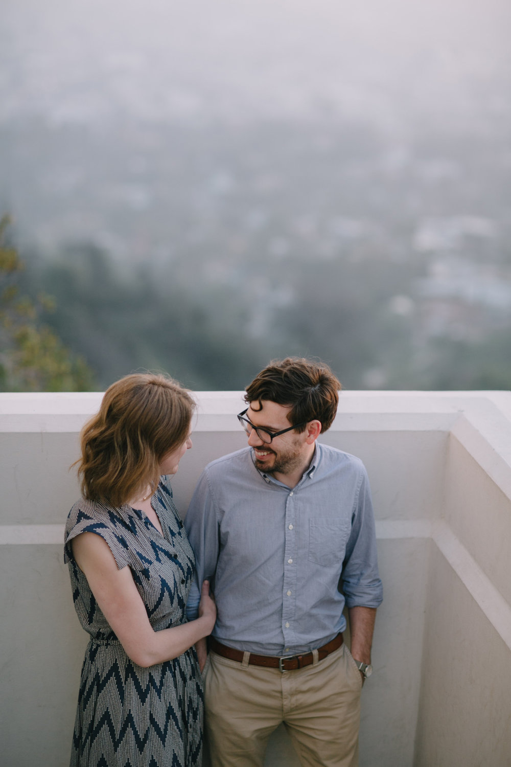 Griffith Park Observatory and Trails Cafe Los Angeles Engagement Session - Alison and Andrew-013.jpg