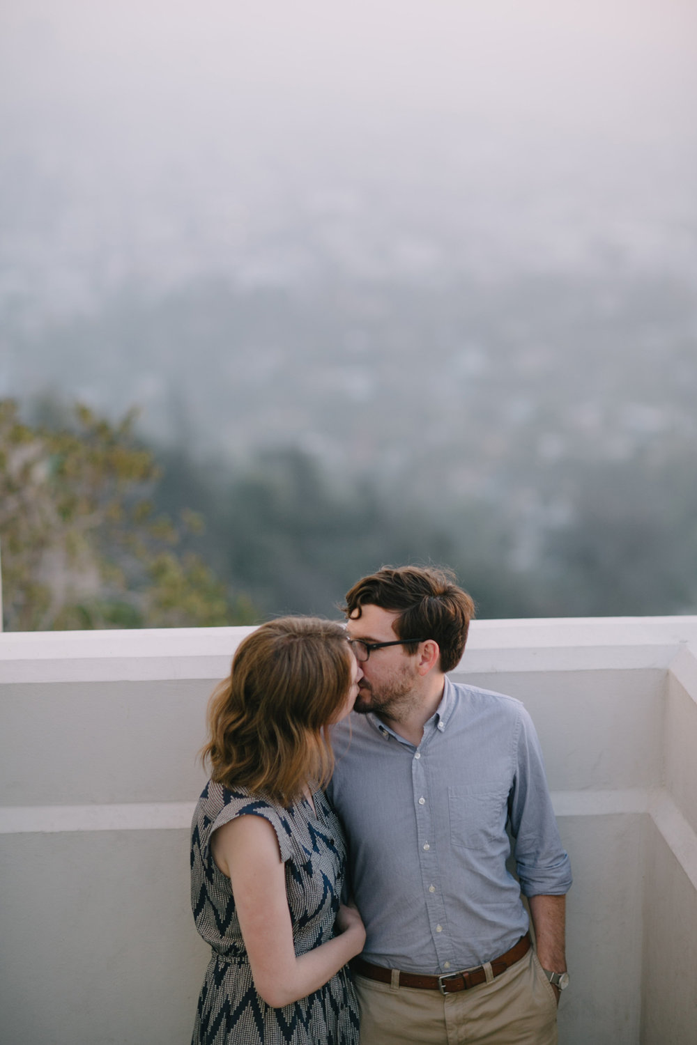 Griffith Park Observatory and Trails Cafe Los Angeles Engagement Session - Alison and Andrew-014.jpg
